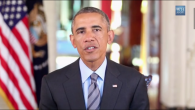 President Obama's video message (YouTube screenshot)
