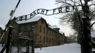 The infamous gates of Auschwitz
