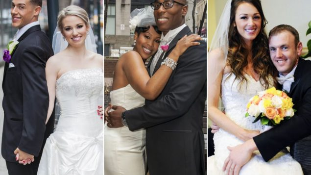 Two out of the three marriages on FYI's reality show succeed. Courtesy of FYI
