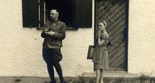 Heinrich Himmler, a doting father, also fathered two children by a younger mistress. Courtesy of KinoLorber