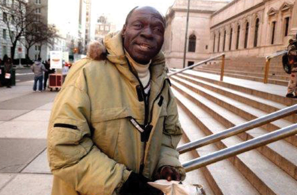 "Robert Zuckerman shot ""C.J."" on the steps of the Metropolitan Museum in 2008 as he broke out in song."