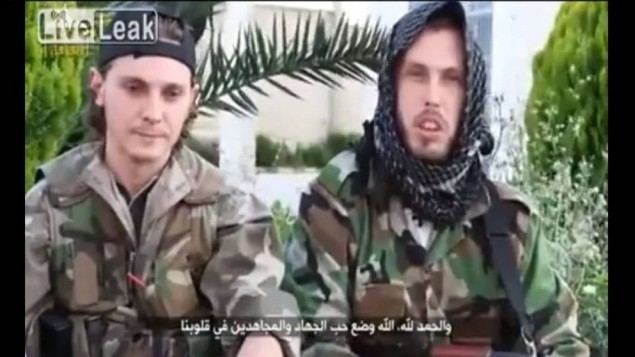 Illustration de photo de Français combattant en Syrie au nom du Djihad (Crédit : YouTube)
