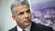 Finance Minister Yair Lapid on September 7, 2014. (photo credit: Yonatan Sindel/Flash90)