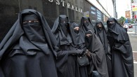 Illustrative photo of Muslim women wearing burqas (AFP/Torsten Blackwood/File)