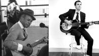 Elijah Staley (aka Carolina Slim), left, mentored the young Jeremiah Lockwood (right) in the art of the Piedmont blues.