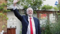 Jeremy Corbyn celebrating a strong performance in the 2017 General Election after so many had written him off