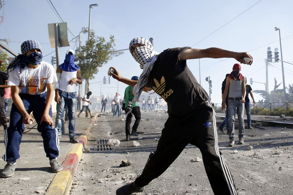 Israeli-Palestinian Clash in West Bank Village