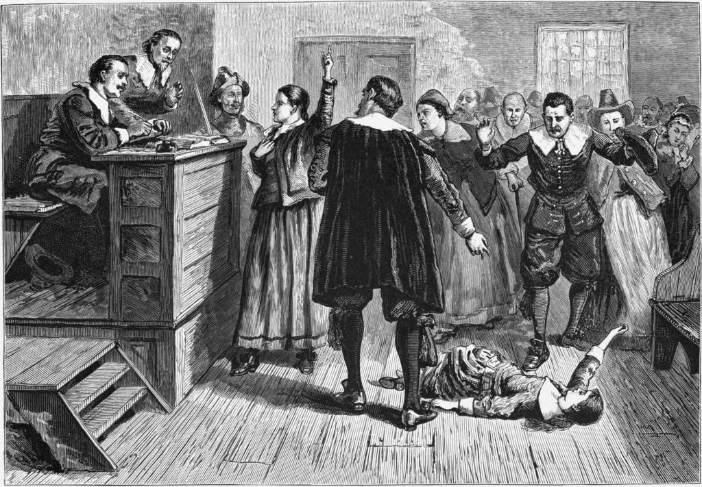 the crucible a depiction of the salem witchcraft trials of 1692 Of the century, it depicts how difficult it is to defend principles and human dignity  under conditions of para- noia, fear, and  nor of massachusetts and the  presiding judge at the witch trials honest and  important residents in salem  1692.