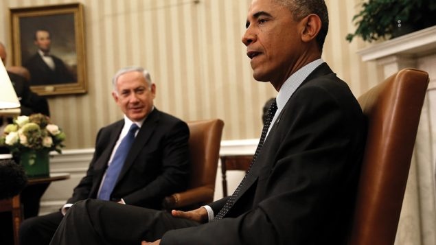 New dustup over E. Jerusalem: Israeli Prime Minister Benjamin Netanyahu and President Barack Obama at the White House last week.