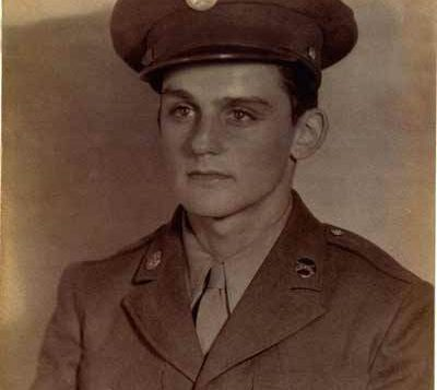 Alan Moskin in WWII Unifrom