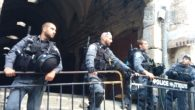 After the asasination attempt, Israel closed the Temple Mount for the first time in 14 years. Joshua Mitnick/JW