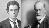 Sometimes a song is just a song: Mahler, left, and Freud. Wikimedia Commons