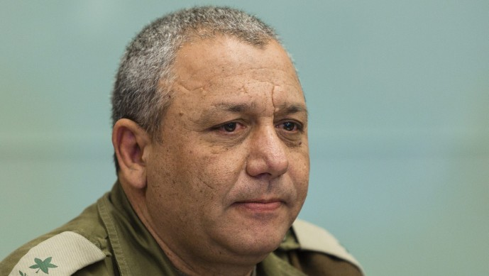 Chief of General Staff Gadi Eisenkot, seen here when he was still a major general. (Photo credit: Flash 90)