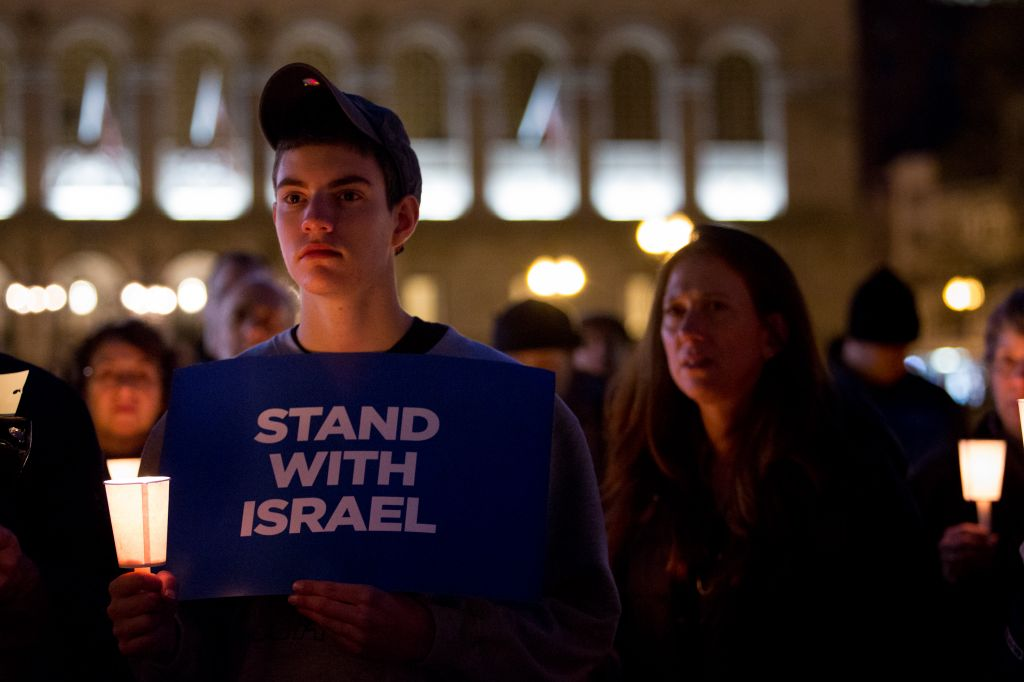 Boston Jews Mourn Jerusalem Massacre Victims at Vigil