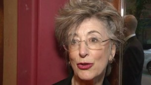 L'actrice Maureen Lipman en 2014  (Crédit : Capture décran YouTube/Red Carpet News TV)