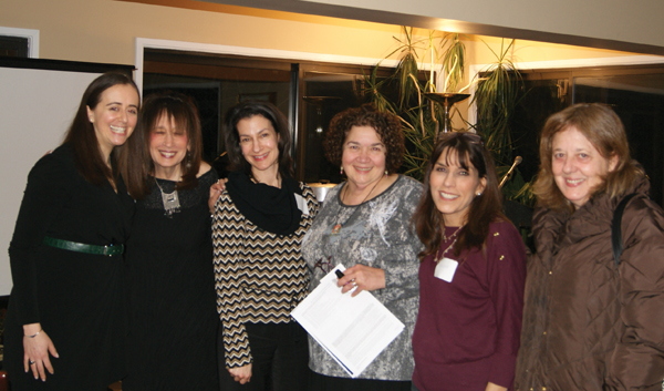 """A Jewish Women's International """"Know your Worth"""" session earlier this year. Courtesy of JWI"""