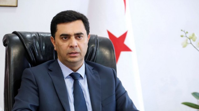 Ozdil Nami (Crédit : Turkish Republic of Northern Cyprus, Ministry of Foreign Affairs)