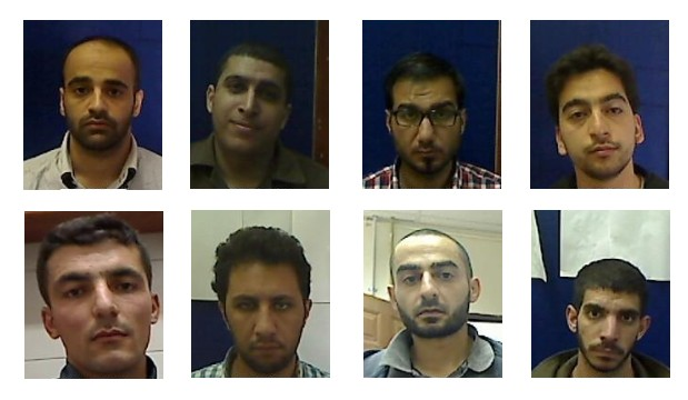 Suspects from a Hamas ring apprehended in the West Bank and announced by the Shin Bet on Thursday, November 27, 2014. Clockwise from top left: Manef Agbariya, Rajai Omri, Mahmoud Malham, Abdullah Zeituni, Masab Dawib, Adnan Samara, Zuheib Ta'avat, Mahmoud Shorbagi (photo credit: Shin Bet)