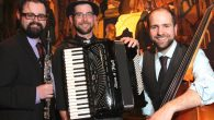 The Yiddish Art Trio is forging a new kind of klezmer sound.  Courtesy of Yiddish Art Trio