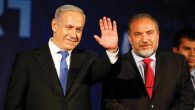 Both Likud, led by Benjamin Netanyahu, left, and Yisrael Beiteinu headed by Avigdor Lieberman, right, are struggling. Getty Imag