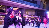 Images from Ice Rink Launch at JW3.