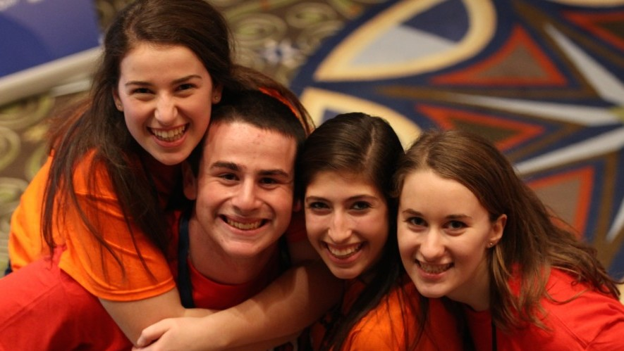 At United Synagogue Youth's 2014 convention, being held in Atlanta on December 21-25 , the board voted to relax the youth organization's ban on interfaith dating. (photo credit: Courtesy/United Synagogue Youth)