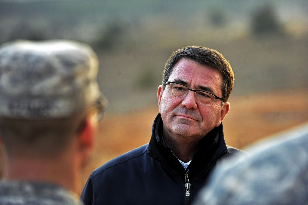 Ashton B. Carter at a Turkish army base in Gaziantep, Turkey, Feb. 4, 2013. (photo credit: Glenn Fawcett/Department of Defense)