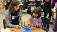 Learning about Chanukah. Courtesy of Gateways