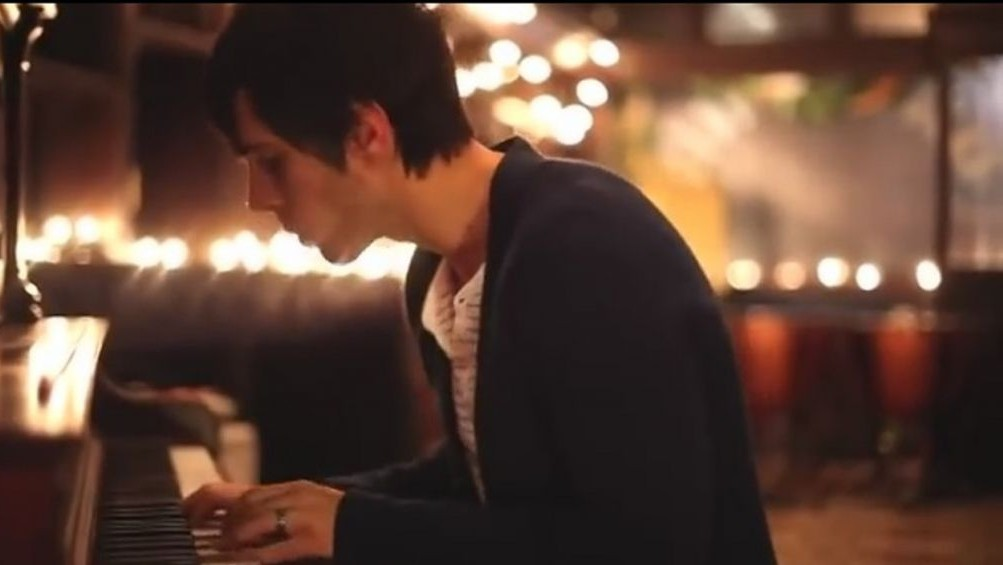 Cloverton vocalist lance stafford in the band s video for hallelujah