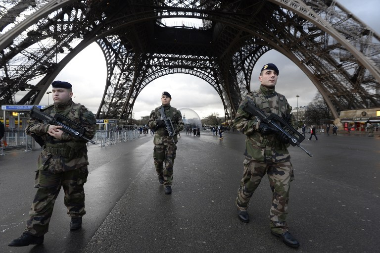 The police in Paris do not fuck around. They and the army there are armed to the teeth. It's extremely intimidating. Whoever perpetrated this will not last long, if they are not already eliminated.