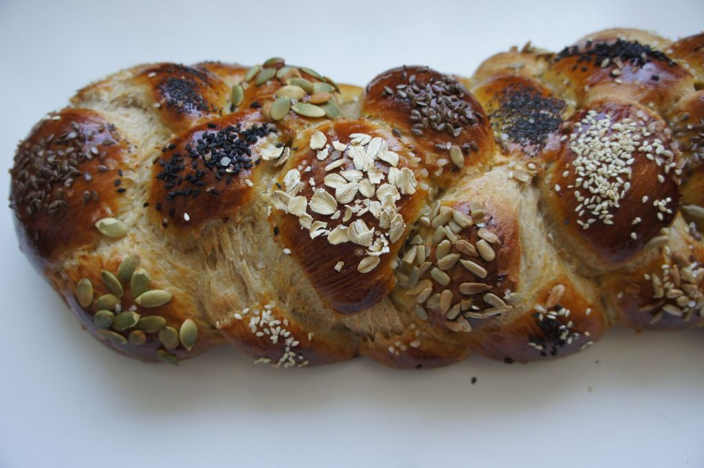this honey whole wheat challah offers a sweet and healthy twist on a ...