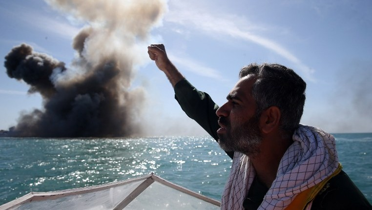 Iran Says Navy Test-Fires New Missiles In Persian Gulf
