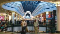 The Malcha Mall in Jerusalem, where shoppers mulled over the election campaign's hottest issue. Wikimedia Commons