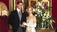 Against all odds: Lady Rose and Atticus Aldridge tie the knot. Nick Briggs/Carnival Films for MASTERPIECE