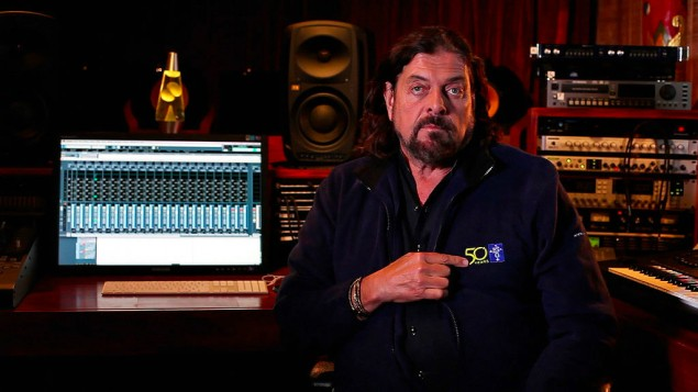 Alan Parsons (Capture d'écran YouTube)