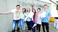 Yavneh College students celebrating their A Level success in 2014   (Marc Morris Photography)