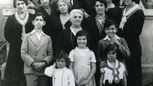 Family Portrait: Jewish immigrants from Egypt in America at a 1928 wedding. Courtesy Andre Aciman