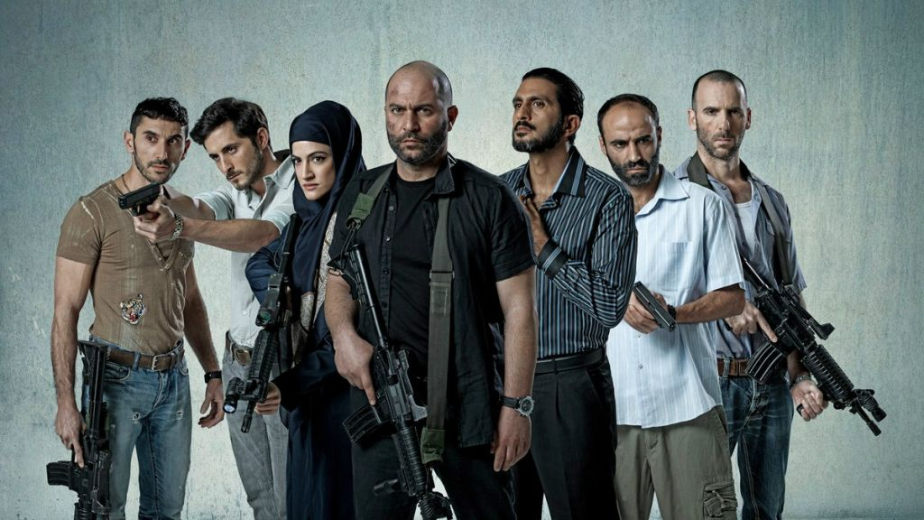 The cast of 'Fauda,' the YES drama about undercover agents in the West Bank, co-created by Avi Issacharoff, who writes for The Times of Israel (Ohad Romano)