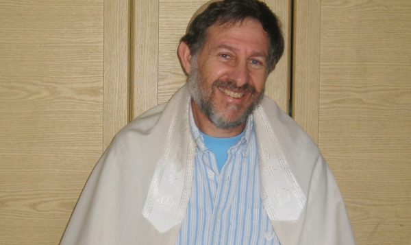 """When prayer is taken to its highest level,"" Rabbi Glick says, ""it becomes meditation.""  Courtesy of Rabbi Yoel Glick"