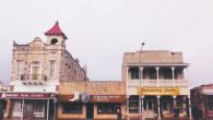 A scene of America with a German twist: Main Street, Fredericksburg, in Texas' Hill Country. Hilary Larson/JW