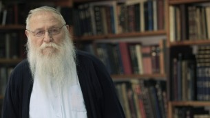 Rabbin Haim Druckman (Crédit : Flash 90)