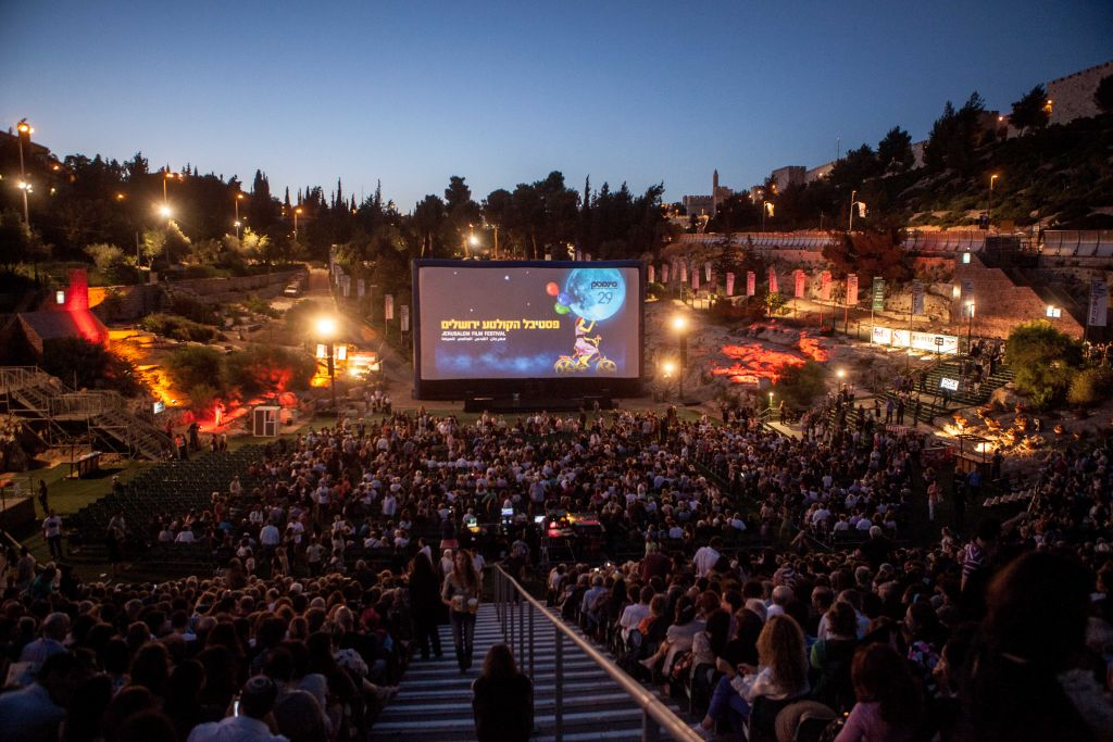 While certain events at the Jerusalem Cinematheque draw a crowd, like the annual opening night of the summer film festival, the audience is mostly Jewish Israelis (photo credit: Uri Lenz/Flash 90)