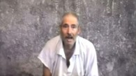 Screen capture from a November 2010 video showing Robert Levinson that was received by his family. (screen capture: Youtube/HelpBob Levinson)