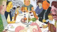 Nicole Eisenman, Seder, 2010, oil on canvas. Courtesy The Jewish Museum