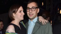 Lena Dunham with Jewish boyfriend Jack Antonoff. Getty Images.