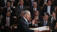 Israeli Prime Minister Benjamin Netanyahu speaking about Iran during a joint meeting of Congress, March 3. Getty Images