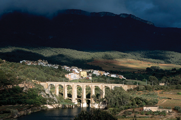 The picturesque village of Capçanes.  Courtesy of Cellar Capçanes