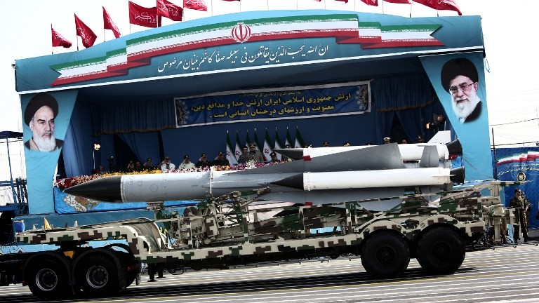 Iran's WARNING to US: Shocking images of 'HUNTER' missile production line released