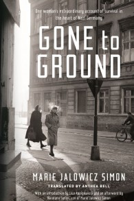 "La couverture du mémoire ""Gone to Ground"" (Crédit : Autorisation)"