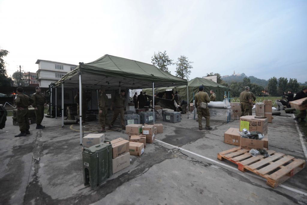 Nepal field hospital, Israel's largest ever, set to open ...